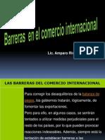 Barreras en El Ci