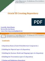 36389916 OBIEE Repository Basics by BISP