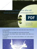 Who is the Little prince after all?