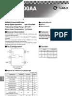 Datasheet NAND CMOS