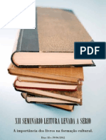XII Seminário Leitura Levada a Sério