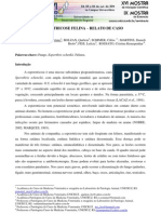 ESPOROTRICOSE FELINA – RELATO DE CASO