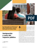 ARAMBURU_Inmigración y usos del espacio público