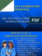Bioetica en La Formacion Profesional