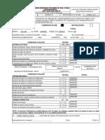 Certificado Para Equipos Electricos