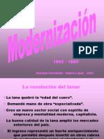modernización uruguaya entre 1860-1880