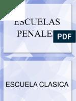 Escuelas Penales (Escuela Clasica)