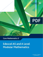 Edexcel Core Mathematics 3