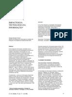 Artigo Científico - Impactos da Tecnologia da Informação