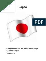 Trablho sobre o Japão