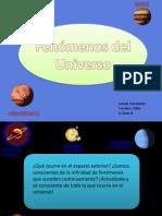 Fenómenos del Universo