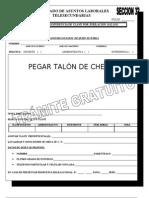 Formatos Transf. y Solicitudes de Empl. 2012 - 2013