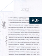 Scaneo de Documentos de Terreno