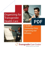 Transgender Health Clinic Organizing Guide