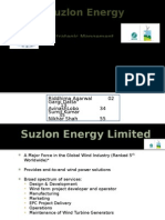 Suzlon Strategic Analysis