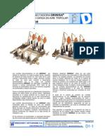 Desconectadores Con Carga en Aire Tripolar. Servicio Interior