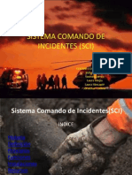 Sistema Comando de Incidentes (Sci)