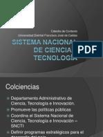 Sistema Nacional de Ciencia y Tecnología 2