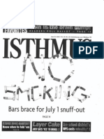 No Smoking Isthmus