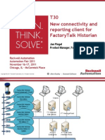 T30 New Connectivity and Reporting Client for Factorytalk Historian