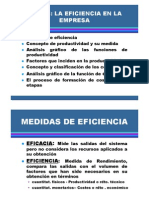 Factores y Variables de Productividad