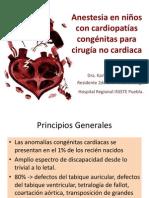 Anestesia y Cardiopatias