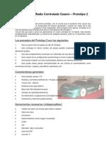 Proyecto Auto Radiocontrolado Prototipo 2
