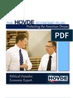 Eric Hovde's Economic Plan