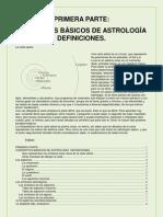 Astrologia Conceptos Basicos - Definiciones