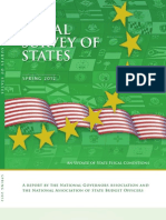 Spring 2012 Fiscal Survey of States