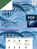 Expo extracción de ADN