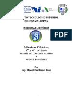 Motores Monofásicos Motores Especiales por Ing. Misael Guillermo Díaz