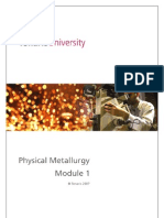 Physical Metallurgy English M1