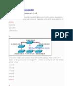 CCNA 3 Final Exam Answers 2012[1]
