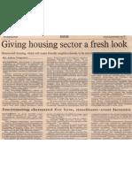givinghousingsectorafreshlook