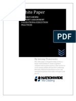 Nationwide Title Clearing White Paper-Understanding Current Assignment Validation and Execution Practices-Aug-2011