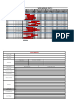 Generic Project Plan Template on Excel