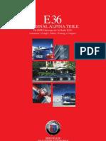 ALPINA Partsaccessory German E36