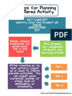 steps for tiered activity