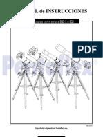instalacion telescopoio