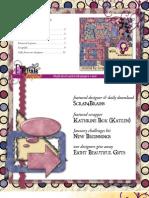 Digital Scrapbooking Newsletter  - 01/05/08