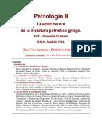 Johannes Quasten - Patrologia T.2 - La edad de oro de la literatura patrística griega - Espanhol