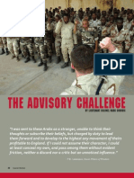 The Advisory Challenge - SW Jan-Feb 08