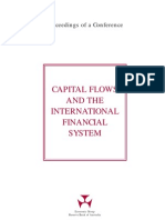 [Capital Flows & the International Financial System]