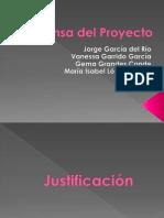 Defensa Del Proyecto