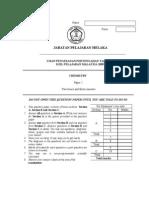 Ujian Pengesanan Pertengahan Tahun 2009_Chemistry 2