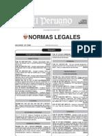 Normas Legales 30-10-2012