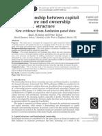 (Al-najjar, Taylor) Capital Structure & Ownership-Jordan V