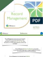 7 Alfresco RecordsManagement