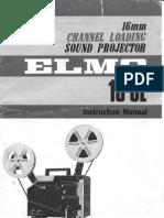 ELMOCL16 Projector Manual